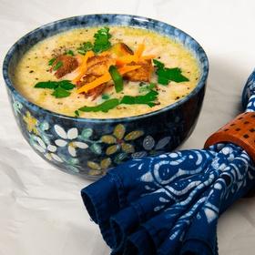 Make creamy cabbage soup - Bucket List Ideas
