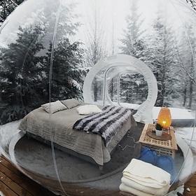 Stay in a bubble - Bucket List Ideas