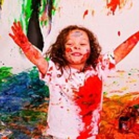 Cover Myself in Paint and Roll Around on a Canvas - Bucket List Ideas