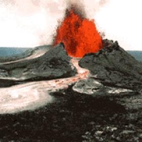 See an erupting volcano - Bucket List Ideas