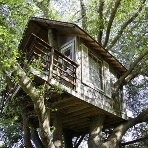 Sleep in a Tree house - Bucket List Ideas