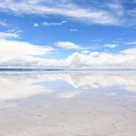 Reflect at Salar de Uyuni, Bolivia - Bucket List Ideas