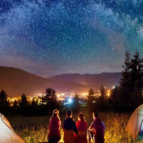 Go camping with friends - Bucket List Ideas