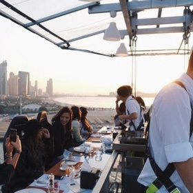 Have Dinner in the Sky - Bucket List Ideas
