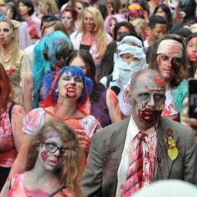 Do the Sydney zombie walk - Bucket List Ideas