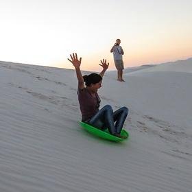 Sled down sand dunes - Bucket List Ideas