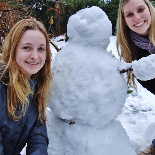 Make a snowman - Bucket List Ideas