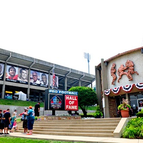 Take Jim to the pro football hall of fame - Bucket List Ideas