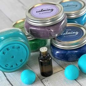 Make aromatherapy playdough - Bucket List Ideas