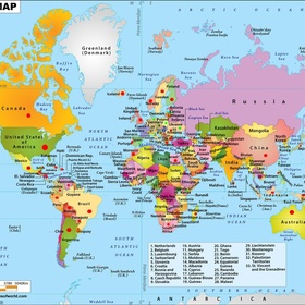 Visit at least 60 countries - Bucket List Ideas