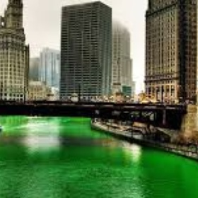 See the Chicago River dyed green for St. Patty's day - Bucket List Ideas