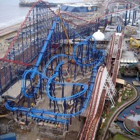 Visit Blackpool Pleasure Beach - Bucket List Ideas