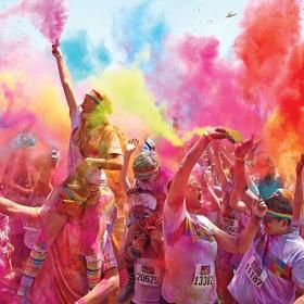 Run in a color run - Bucket List Ideas