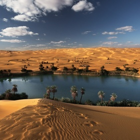 Walk in the desert and see an oasis - Bucket List Ideas