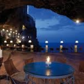 Visit the  Grotta Palasezze. Eat and Sleep there - Bucket List Ideas