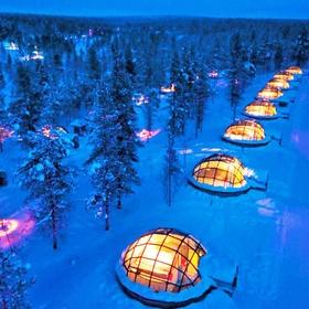 Sleep in a Glass Igloo and watch the Northern Lights - Bucket List Ideas