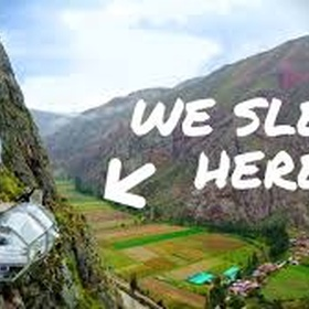Have an adventure at the Skylodge in Peru - Bucket List Ideas
