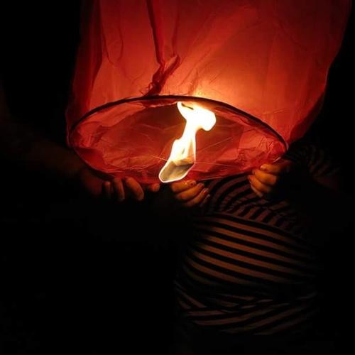 Let  off a floating lantern - Bucket List Ideas