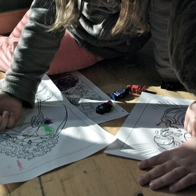Complete a Colouring Book - Bucket List Ideas