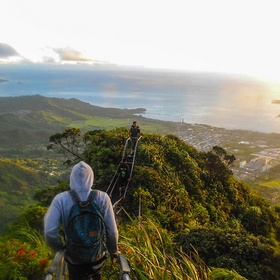 Climb the Haiku Stairs in Hawaii - Bucket List Ideas
