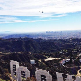Stand over the Hollywood Sign - Bucket List Ideas