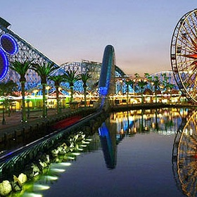 Visit a theme park when it's empty - Bucket List Ideas