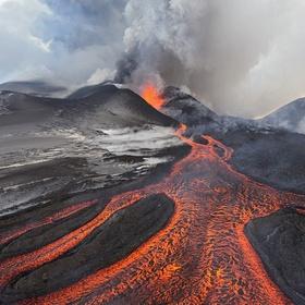 Watch a volcanic eruption - Bucket List Ideas