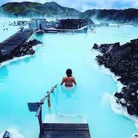 Swim in blue laggoon, island - Bucket List Ideas