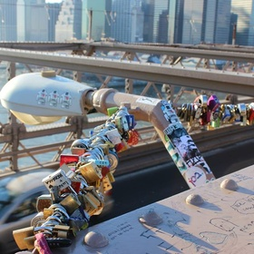 Put a Lock on the Brooklyn Bridge - Bucket List Ideas