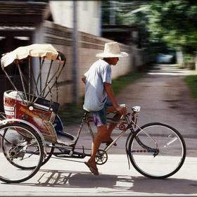 Ride in a rickshaw - Bucket List Ideas