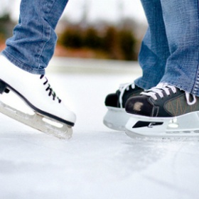 Go Ice Skating at the Atrium - Bucket List Ideas