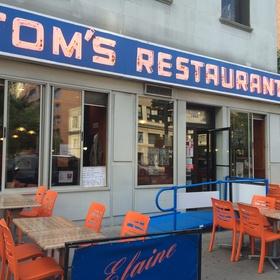 Eat at Tom's Restaurant - Bucket List Ideas