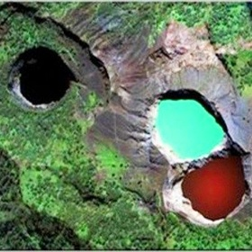 Check out the Colours at the Peak of Kelimutu Volcano - Bucket List Ideas