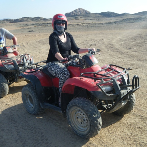 Ride a quad bike in the desert - Bucket List Ideas