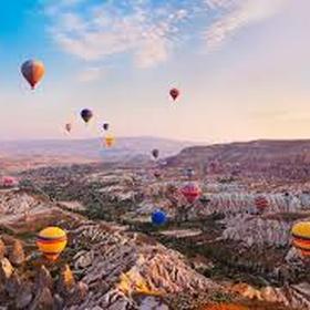 Go on a hot air balloon ride, preferably in Cappadocia - Bucket List Ideas