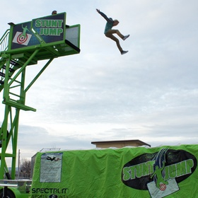 Do a stunt fall onto an airbag - Bucket List Ideas