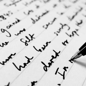 Fill an entire notebook with original writing - Bucket List Ideas