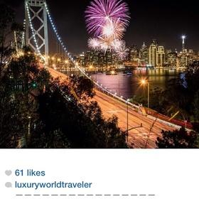 Watch Fireworks over the golden Gate bridge on New Years- Fresno, CA - Bucket List Ideas