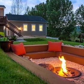 Create a fire pit in my garden - Bucket List Ideas
