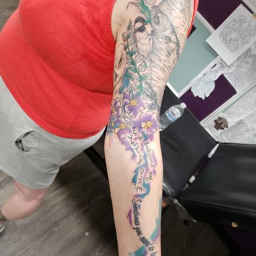 Complete A Half Tattoo sleeve - Bucket List Ideas