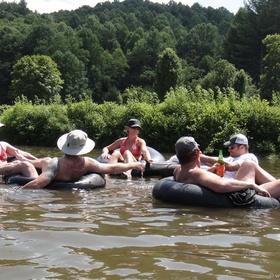 Inner tube down a river - Bucket List Ideas