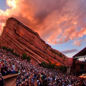See a concert at the red rocks amphitheatre - Bucket List Ideas