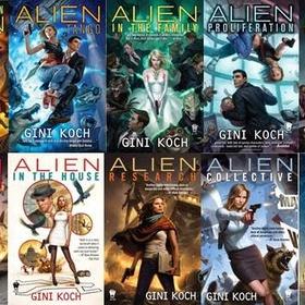 Read Gini Koch's Alien series - Bucket List Ideas