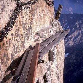 Take the death-defying Huashan 'Plank Walk in the Sky' - Bucket List Ideas