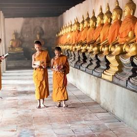 Make a spiritual retreat in asia - Bucket List Ideas