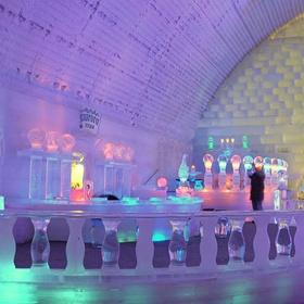 Visit Aurora Ice Museum in Alaska - Bucket List Ideas
