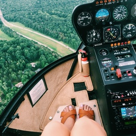 Take a Helicopter Ride - Bucket List Ideas