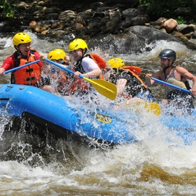 Go white water rafting in canada or new zealand - Bucket List Ideas