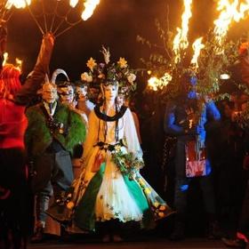 Attend Edinburgh's Beltane Fire Festival - Bucket List Ideas