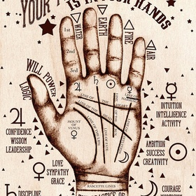 Get my palms read - Bucket List Ideas